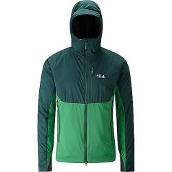 Rab Men's Alpha Direct Jacket Evergreen / Green / Beluga
