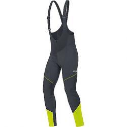 Gore Wear Men's C3 Gore Windstopper Bib Tight+ Black / Neon Yellow