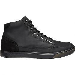 KEEN Men's Glenhaven Mid Sneaker Black / Black