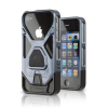 iPhone 4/4s Fuzion Magnetic Case - Gunmetal Aluminum