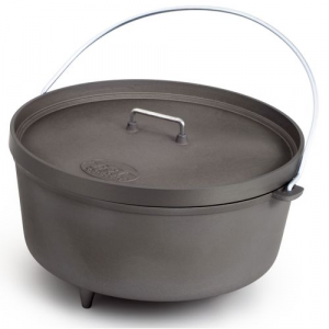 "GSI Anodized 14"" Aluminum Dutch Oven"