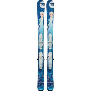 Rossignol Frozen Skis with Kid X 4 Bindings - Girl's (104 - 122cm)