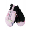 Obermeyer Thumbs Up Print Mitten - Youth