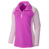 Columbia Tested Tough In Pink Fleece Half Zip - Women's