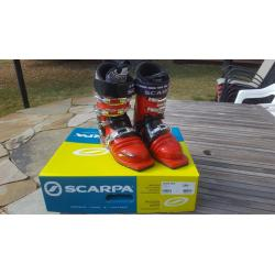 Scarpa T-Race Telemark boots size 25.0