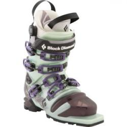 Stiletto Telemark Ski Boot - Women's Mist Green/Potent Purple, 23.5 -