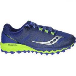 Peregrine 7 Trail Running Shoe - Women's Blue/Citron, 7.0 - Excellent