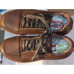 GRAVIS men's ALPHA G fudge Brown Leather Size 11 Shoes BURTON