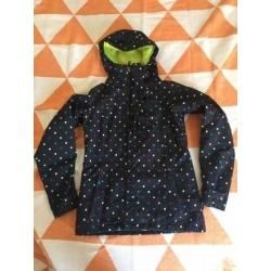 Burton DryRIDE Black Polka Dot Snowboard Jacket