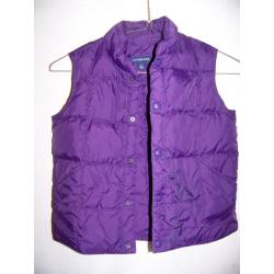 Lands' End Down Vest, Kids LG 6x-7