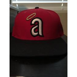 Los Angeles Angels of Anaheim Retro Logo Hat
