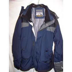 Pacific Trail Waterproof Snowboard Ski Jacket, Men's Medium