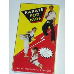 KARATE FOR KIDS Easy Instruction and Exercise VHS