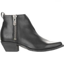Sacha Moto Shortie Boot - Women's Black, 8.0 - Excellent