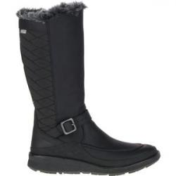 Tremblant Ezra Tall Waterproof Ice+ Boot - Women's Black, 8.0 - Excellent