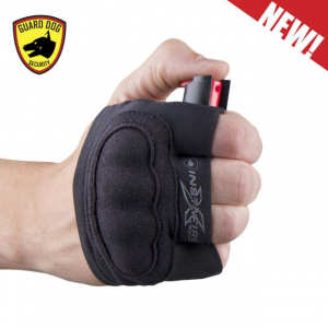 INSTAFIRE XTREME - BLACK Pepper Spray + Knuckle Defense Activewear