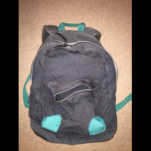 Burton backpack (black with teal)