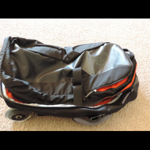 Rolling Luggage/Gear Bag Holds a long weekend trip
