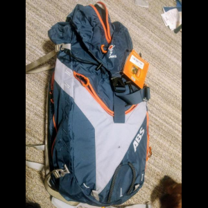 New Vario ABS Avalanche Base unit and 2 zip on backpacks (45+5L and 8