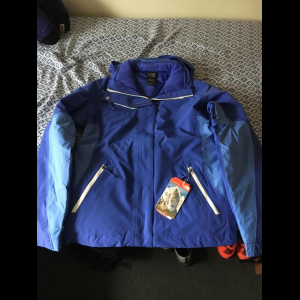 The North Face Women's Cinnabar Triclimate Jacket Tech Blue Small New