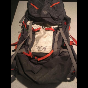 Waterproof 50L Mountain Hardwear pack!