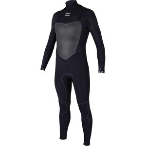 4/3 Furnace Carb X Chest Zip Wetsuit - Men's Black, XL - Good