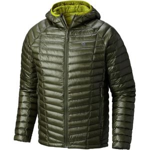 Ghost Whisperer Hooded Down Jacket - Men's Surplus Green, M - Good