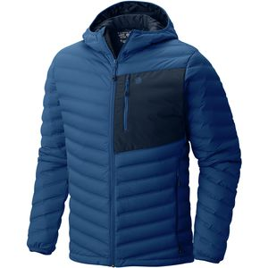 StretchDown Hooded Jacket - Men's Nightfall Blue, S - Excellent