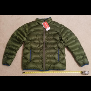 MERRELL Wildgarst Puffer Puffy Down Jacket Chive Green Men's XL New