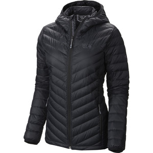 Micro Ratio Hooded Down Jacket - Women's Black, S - Like New