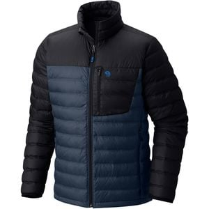 Dynotherm Down Jacket - Men's Zinc/Black, L - Like New