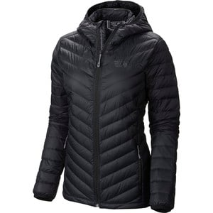 Micro Ratio Hooded Down Jacket - Women's Black, M - Excellent