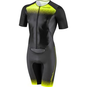 Course M-2 Tri Skinsuit - Men's Black/Bright Yellow, XL - Excellent