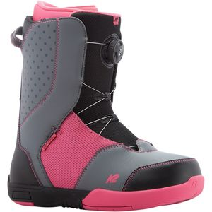 Kat Boa Snowboard Boot - Girls' Black, 4.0 - Excellent