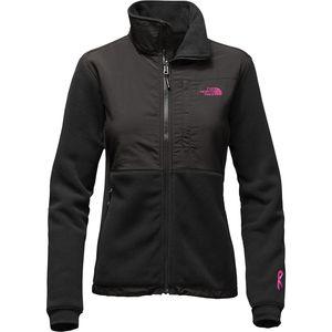 Pink Ribbon Denali 2 Jacket - Women's Tnf Black/Meadow Pink, XS - Exce