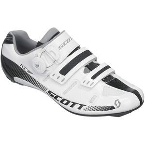 Road RC Lady Shoe - Women's White/Black Gloss, 38.0 - Excellent