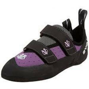 evolv VTR 3d climbing shoes -- womens size 9 -- violet
