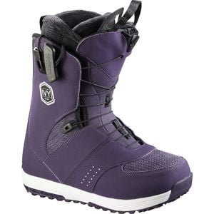 Ivy Snowboard Boot - Women's Nightshade Grey/White/Black, 8.0 - Good