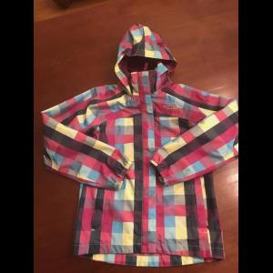 Girls North Face Rain Jacket