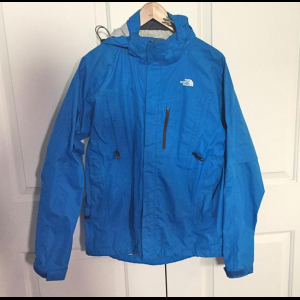 The North Face Bracket Jacket Cycling Rain Shell Men's Size Small