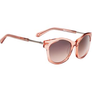 Mulholland Happy Lens Sunglasses - Women's Melon - Happy Bronze W/Silv