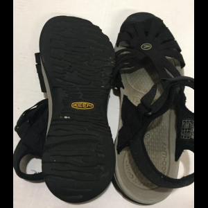 "Keen ""Rose"" Black Sport Sandals Women's Size 9"