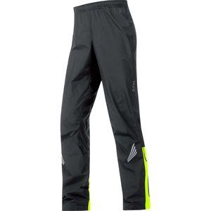 Element WindStopper Active Shell Pant - Men's Black/Neon Yellow, M - E