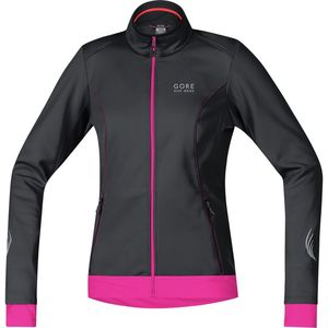 Element Lady WindStopper Softshell Jacket - Women's Black/Magenta, M -