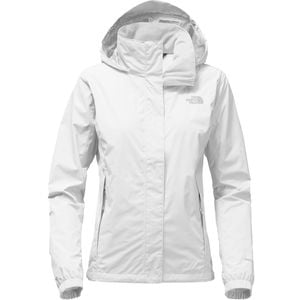 Resolve 2 Hooded Jacket - Women's Tnf White/High Rise Grey, S - Excell