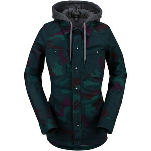 Circle Flannel Jacket - Women's Dark Camo, M - Good