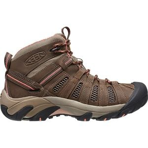 Voyageur Mid Hiking Boot - Women's Cascade Brown/Fusion Coral, 8.0 - G