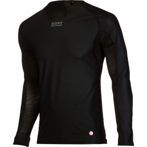 Base Layer Windstopper Long-Sleeve Shirt Black, M - Excellent