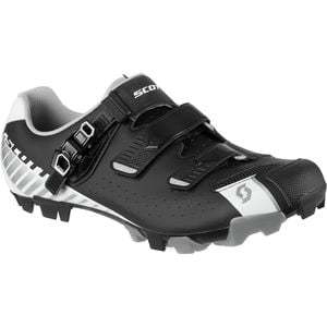 MTB Pro Shoe - Men's Matte Black/Gloss White, 43.0 - Excellent