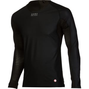Base Layer Windstopper Long-Sleeve Shirt Black, XL - Excellent